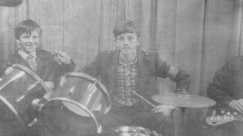 Молодой барабанщик